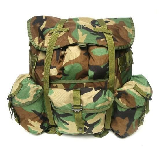 851624fce7 Made In USA ALICE Pack Large Woodland Camo