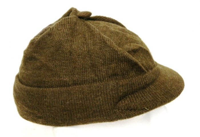 a9a1409521c Email. Description. These wool military issue Swiss knit jeep caps ...