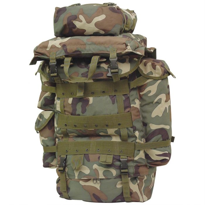 SFP-90 Internal Frame Pack-Woodland Camouflage | Army Navy Sales ...