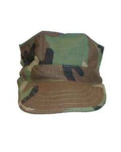 USMC Woodland Camo Hat - Small Kids Size