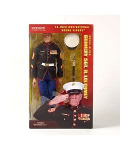 Gunnery Sgt. R. Lee Ermey Dress Blues Figure