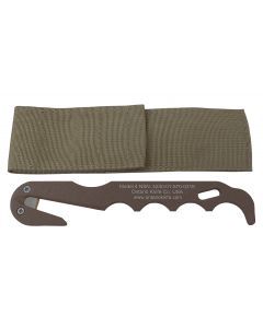 Ontario Model 4 Strap Cutter - Coyote Brown
