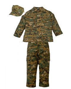 Kids 3 Piece Marine MARPAT Uniform