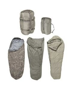 5 Part Military Modular Sleeping Bag System ACU Digital