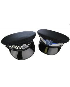 British Police Cap with Badge