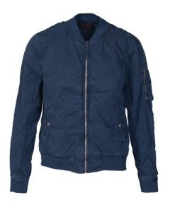 Schott Navy Lightweight MA-1 Jacket