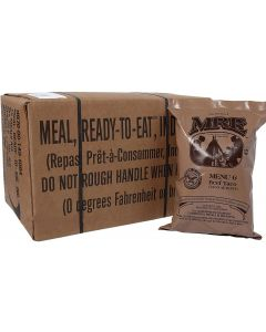 GI MRE Case of 12 Meals