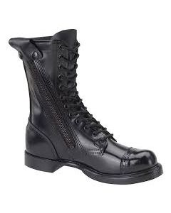 10 inch Leather Side Zip Jump Boots