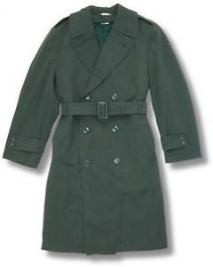 GI AG-44 Wool Gabardine Overcoat With Liner