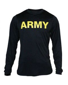 APFU Army PT Long Sleeve Shirt