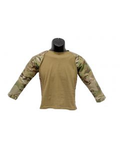Kids Multicam Combat Battle Shirt