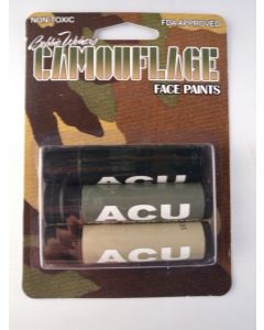 ACU Camo Face Paint Sticks