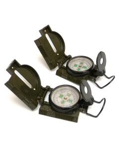 2 Pack of U.S. Spec Lensatic Compasses