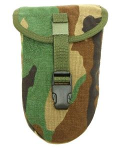 MOLLE E-Tool Shovel Cover (Woodland)