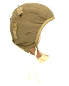 WWII US Army Air Force A-9 Cloth Flight Helmet