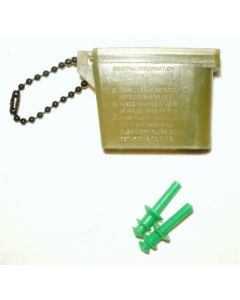 Military Issue Ear Plugs With Case