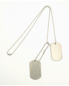 Set of Novelty Dog Tags