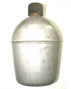 WWII Stainless Steel Canteen (With Seam)