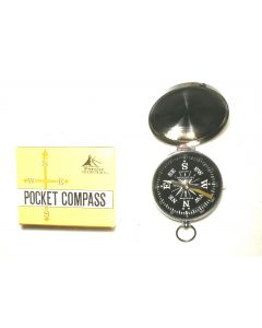 2-Pack Of Pocket Watch Type Compasses