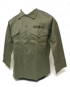 Fatigue Shirt With US Army Name Tape