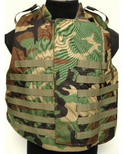 GI Woodland Body Armor Vest