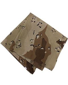 6 Color Desert Bandana