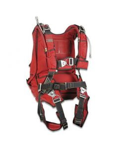 French Military Parachute Harness With 2 Parachutes