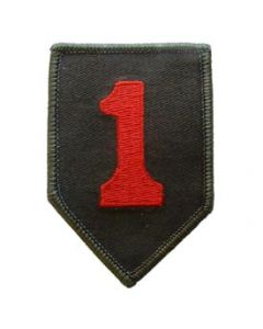 PATCH-ARMY,001ST INF.DIV.