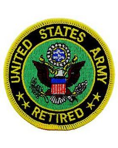 PATCH-ARMY LO,RETIRED