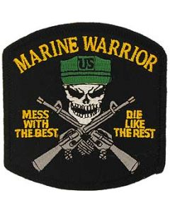 USMC Marine Warrior Patch