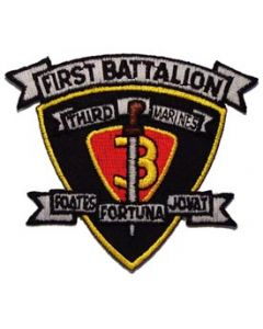 PATCH-USMC,01ST BN 3RD