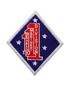 PATCH-USMC,01ST BN 1ST