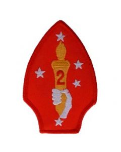 PATCH-USMC,02ND DIV