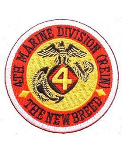 PATCH-USMC,04TH DIV