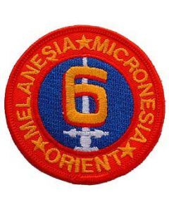 PATCH-USMC,06TH DIV