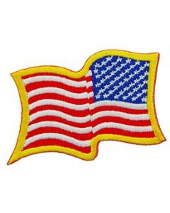 PATCH-FLAG USA,WAVY,LD (RIGHT ARM)