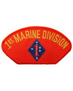 PATCH-USMC,HAT,001ST DIV.