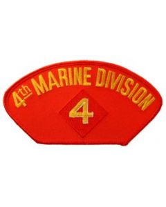 PATCH-USMC,HAT,004TH DIV.