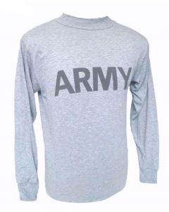 Front U.S. Army Physical Training Shirt (Long Sleeve)