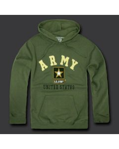 Army Fleece Pullover Hoodie