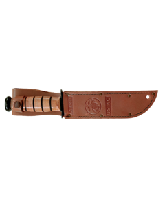KA-BAR Short U.S.M.C. w/Leather Sheath