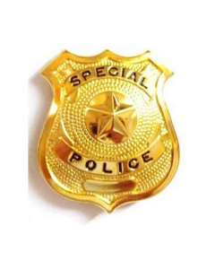 Special Police Badge - Large