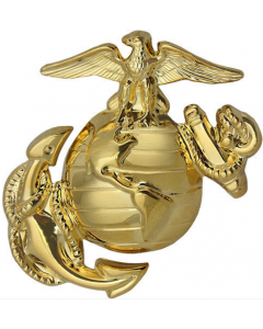 Marine Corps Dress Cap Device (Enlisted)