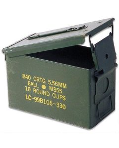Used GI .50 Cal Ammo Can
