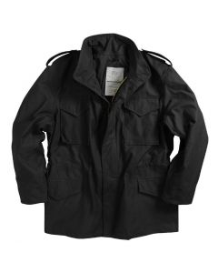 US Made Alpha M65 Field Jacket Black