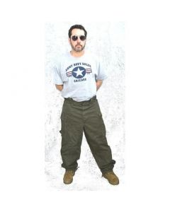 Vintage Dutch HBT Fatigue Pants