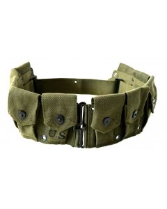 OD Green Reproduction M1923 M1 Garand Cartridge Belt