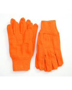 2 Pack of Orange Cotton Gloves