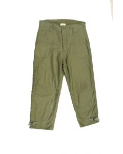 GI Navy Deck Pants Permeable Made by Alpha