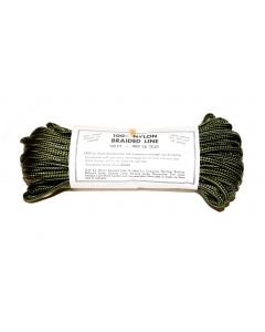 100 Feet of Nylon OD Braided Line